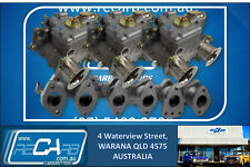 Ford 250 X-flow Iron Head GENUINE WEBER Triple 40 DCOE Carburettor Kit