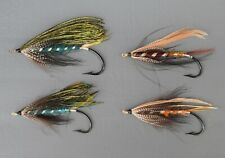 Collection of  4  Gut  Eyed  Salmon Flies