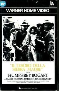 Il tesoro della Sierra Madre (1948) VHS W.B. 1a Ed. Humphrey Bogart John Huston