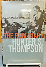 The Rum Diary Hardcover 1st British Ed. Classic Fiction Hunter S. Thompson