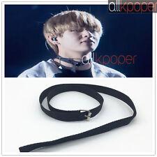 Kpop BTS V Necklace Bangtan Boys Merchandise Long Belt Buckle Stylish Choker