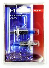 Sho-Me H1 - 2 x BOMBILLA 55W 12V 4300K +120% LUZ BLANCA EFECTO XENON WHITE