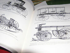 Carriage Wagons Sleighs Stagecoachs Plans Historical Antique Harness Information