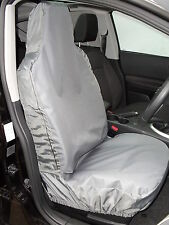 i - TO FIT A TOYOTA AVENSIS CAR, SEAT COVERS, DELUXE WATERPROOF GREY, FULL SET