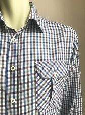 Billy Reid Shirt, Yorktown Plaid, 2XL, Standard Fit, Exc Condition