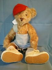 """German Mohair Jointed Teddy Bear by Francy Gordon #4/50 """"Jack"""" Artist Signed Tag"""