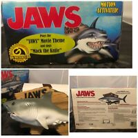 Vtg Gemmy 2000 Jaws Singing Great White Shark Mack The Knife Motion SEE VIDEO