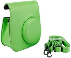 CLime Green Groovy Case for Fuji Instax Mini Camera Strap + Brand New.