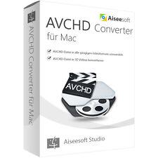 AVCHD Converter MAC Aiseesoft 1 Jahr -  Lizenz Download nur 11,00 EUR