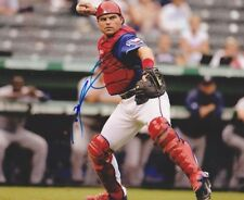 "IVAN ""PUDGE"" RODRIGUEZ AUTHENTIC SIGNED AUTO 8X10 PHOTO MLB TEXAS RANGERS"