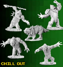 Reaper Miniatures - Bones 3 Kickstarter - Chill Out (4 Yetis and Winter Wolf)