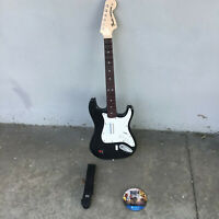 PS4 Rock Band 4 Game & Fender Stratocaster Guitar Controller 91261 No Whammy