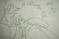 Original Gohan Videl Dragon Ball Z Cel DBZ Broly Anime Production Pencil Douga
