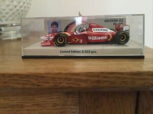 1:43 Minichamps Williams Mecachrome 1998 Launch Version - Limited edition