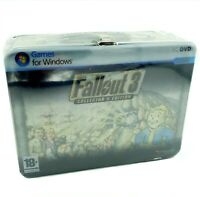 Fallout 3 for PC - Collector's Edition Factory Sealed - Lunchbox with Booblehead