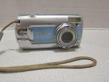 Canon PowerShot A470 7.1MP Digital Camera - Blue