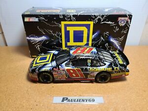 1998 Kenny Wallace #81 Square D Lightning Ford 1:24 NASCAR Action Die-Cast MIB