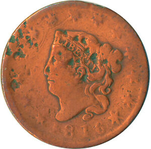 UNITED STATES / 1816 CORONET HEAD LARGE CENT / LIBERTY  #WT4874