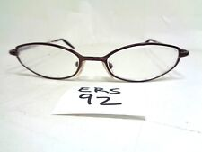 d7c83056738f Vtg NINE WEST Eyeglasses Frame NW213 OED6 Plum Italy Oval Used (ERS-92)
