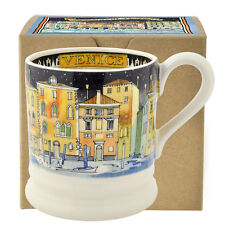 Emma Bridgewater 'Cities of Dreams' Venice Earthenware Half Pint Mug, Boxed