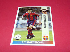 GUILLERMO AMOR FC BARCELONA PANINI LIGA 96-97 ESPANA 1996-1997 FOOTBALL