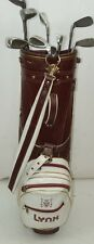 Vintage Lynx Predator 3-P Woods 3,5 Complete Set Golf Club and Bag 15 Clubs RH