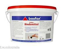 Baufan Latex Bindemittel transparent 2,5l Tapetenbeschichtung farblos