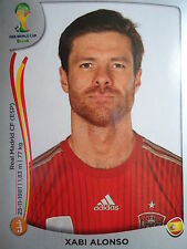 Panini 116 Xabi Alonso Spanien FIFA WM 2014 Brasilien