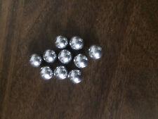 """Hollow Aluminum Balls 3/8"""" diameter (.375"""") 10 pieces"""