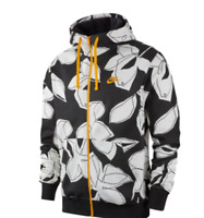 Nike Floral Men's Sportswear Club Full Zip Hoodie Jacket