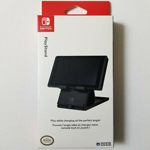 Hori Official Nintendo Switch Compact Playstand Console Stand Black