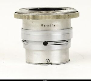 Lens Zeiss Tessar 3,5/5cm 50mm Red T  for Contax Jena Contax IIa IIIa
