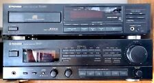 PIONEER STEREO CD PLAYER PD4550 & Amplifier SX-337