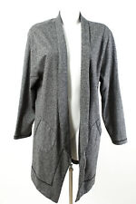 Damen Strickjacke Gr. 48 / 50 Cardigan Strick Feinstrick Longjacke Knit Jacket