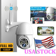 Waterproof Dome Ip Camera Wireless Outdoor Motion Surveillance Security