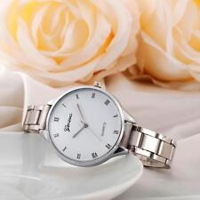 Women Luxury Ladies Bracelet Stainless Steel Band Analog Wrist Watch Watches