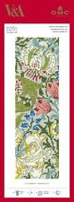 DMC Counted Cross Stitch Bookmark Kit V&A Museum William Morris & Co Golden Lily