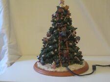 Boyds Bears Christmas Tree - Light Up