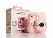 FUJIFILM Fuji Instax Mini 8 rosa  Sofortbildkamera NEUWARE