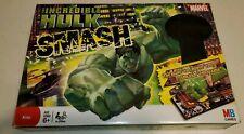The Incredible Hulk Smash Game Milton Bradley 2008 COMPLETE