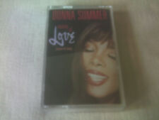DONNA SUMMER - MELODY OF LOVE - UK CASSETTE SINGLE