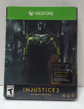 ~* Injustice 2: Ultimate Edition (Microsoft Xbox One, 2017)