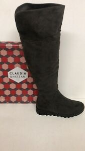 BNIB Claudia Ghizzani Brown Over The Knee Boots Size 3