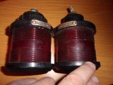 2 x  Lampe fanal Marinerouge