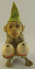 ANTIQUE VINTAGE MAX CARL WINDING MONKEY TRICKEY APE TOY GERMANY