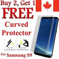 Full Curved Edge TPU Clear Screen Protector for Samsung Galaxy S9