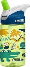 New Camelbak Eddy Kids Bottle 400Ml Tumbler Bpa Free Leak Proof Jungle Animals