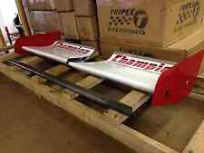 Zizzo Racing -- (1) Set of Old Front Wings w/ Extra Spill Plates
