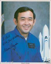 ELLISON ONIZUKA Signed Photo - NASA Astronaut Space Shuttle Challenger preprint