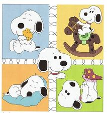 BABY SNOOPY COLLAGE CROSS STITCH PATTERN PDF DOWNLOAD FILE